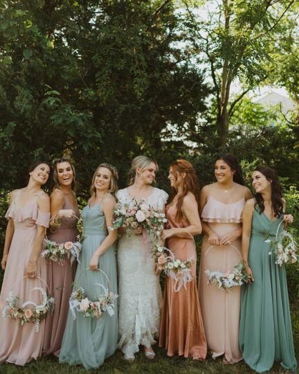Spring-themed dresses