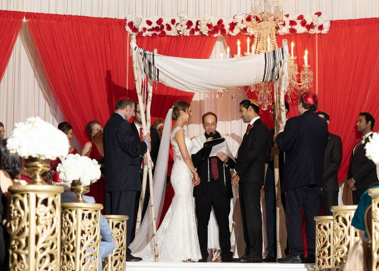 alix and amits jewish wedding ceremony at the fort worth club in fort worth texas www themamones com 2 51 40529 1571260770