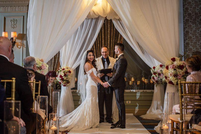 rachel and toms wedding ceremony at hotel icon in houston texas www blancaduranphotography com 1 51 40529