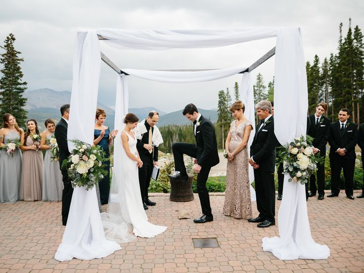 Tmx 1514404259640 Lizzy And Aaryns Wedding Ceremony At Ten Mile Stat Frisco wedding officiant