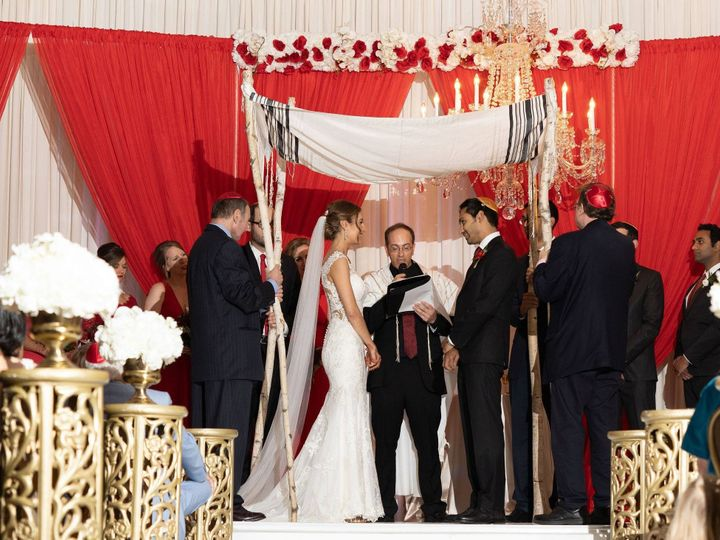 Tmx Alix And Amits Jewish Wedding Ceremony At The Fort Worth Club In Fort Worth Texas Www Themamones Com 2 51 40529 1571260770 Frisco wedding officiant