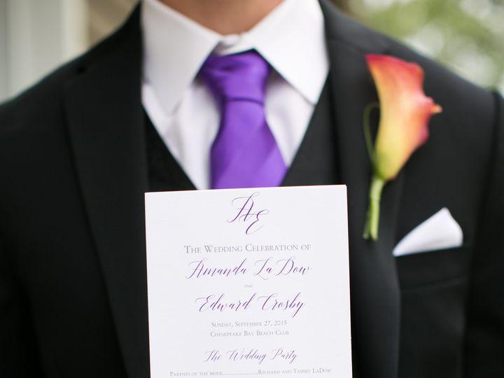 Tmx 1462378828038 Mandi Eddie Wedding 0209 Severna Park, Maryland wedding invitation