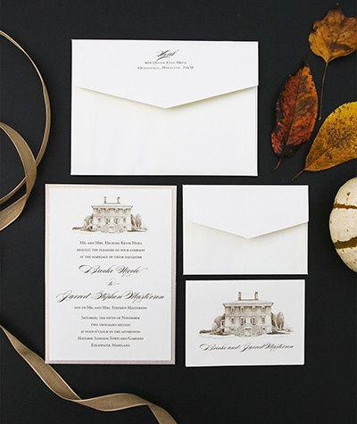 Tmx 1484859103910 Heillinvitelow Severna Park, Maryland wedding invitation