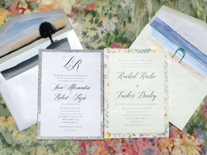 Tmx 1502213046938 H20linerssm Severna Park, Maryland wedding invitation
