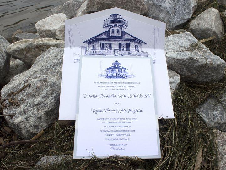 Tmx 1502213086787 Knechtsm Severna Park, Maryland wedding invitation