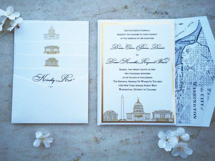 Tmx 1502213179170 Img1324 Severna Park, Maryland wedding invitation