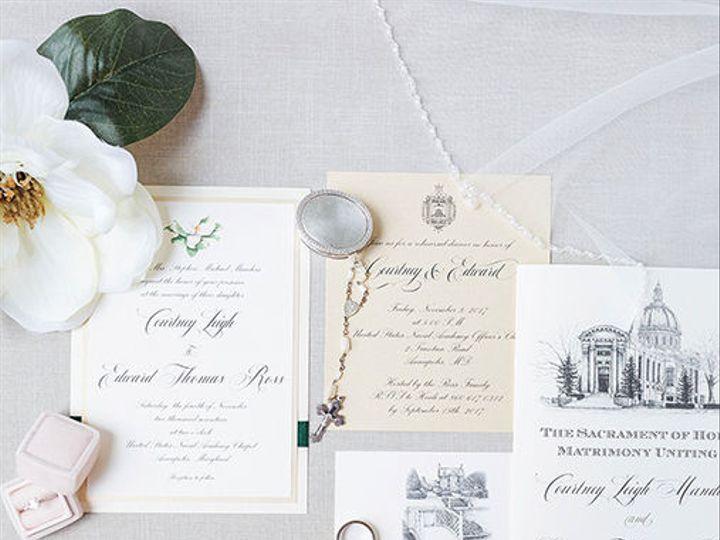 Tmx 1528911251 56ffb19a53d627f7 1528911250 5bd4305049c89559 1528911205924 1 Manders Kir2ben Severna Park, Maryland wedding invitation