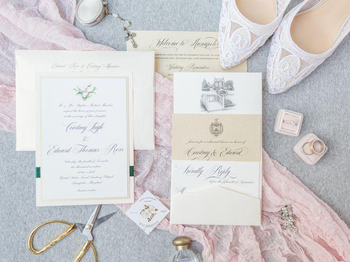 Tmx 1528911253 364f17a906c1a31a 1528911250 6fdb1308be9539c8 1528911205927 2 Sneaks Severna Park, Maryland wedding invitation