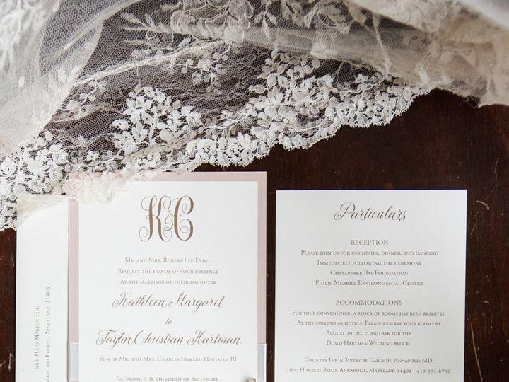 Tmx 1528911536 40600cf0ad672fd9 1528911532 F6db9fbfb9424a7f 1528911486653 1 09 30 17 Kathleen  Severna Park, Maryland wedding invitation