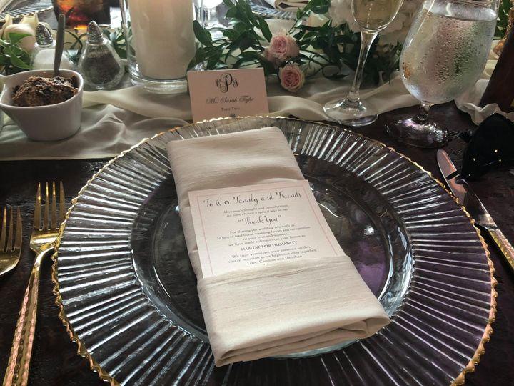 Tmx In Lieu Of Cards 51 80529 Severna Park, Maryland wedding invitation