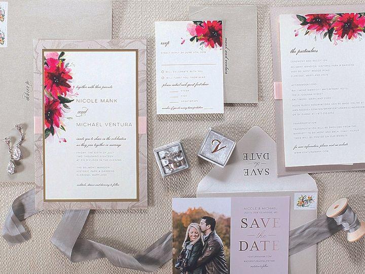 Tmx Mankinvite 51 80529 Severna Park, Maryland wedding invitation