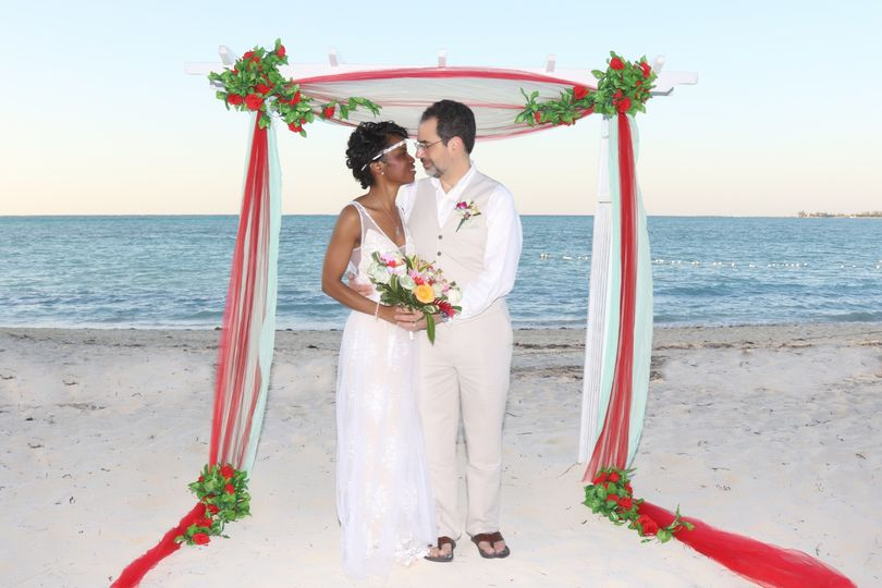 Stacey and Michael beach wedding