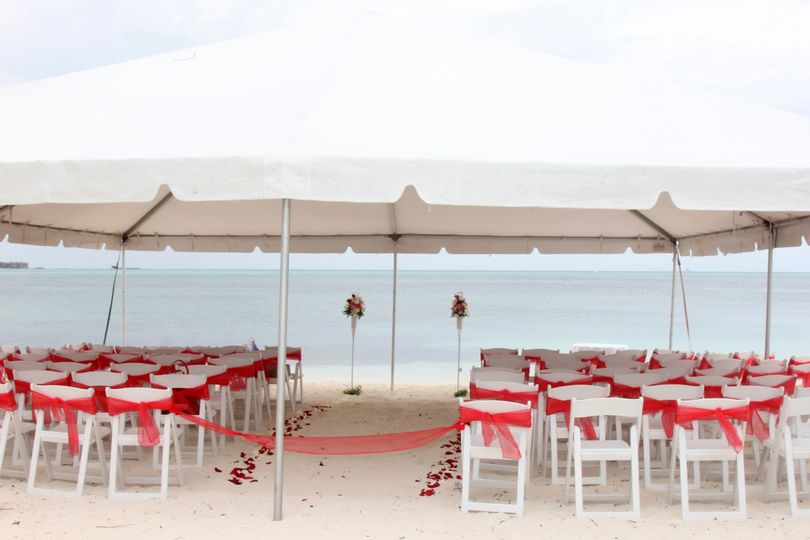 Goodman's bay beach wedding