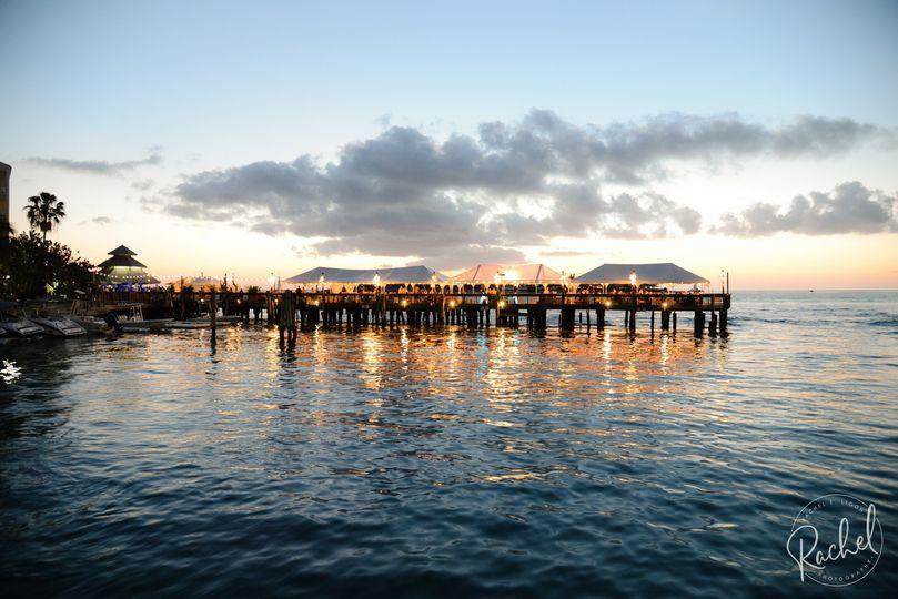 Pier reception