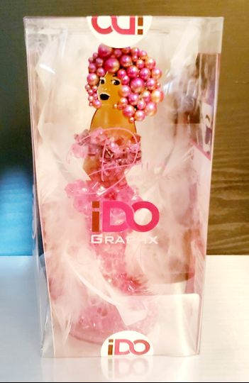 Packaged Diva Wine Glass