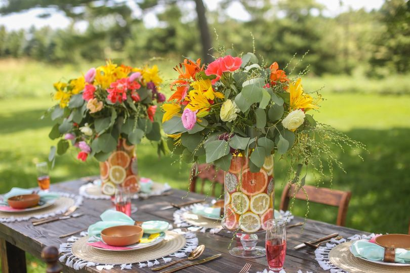 Bridal Brunch Table Scape