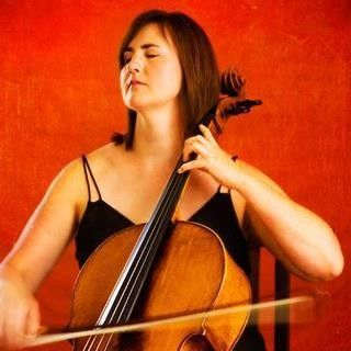 Cellist Amy Phelps photographed by Todd Adamson.