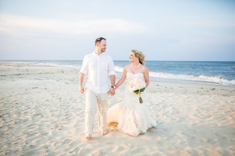A walk on the beach - Kristi Midgette Photography