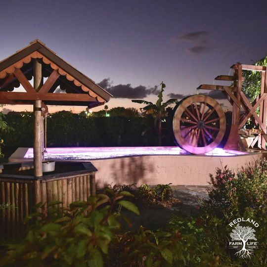 ig waterwheel night redland farm life compressed