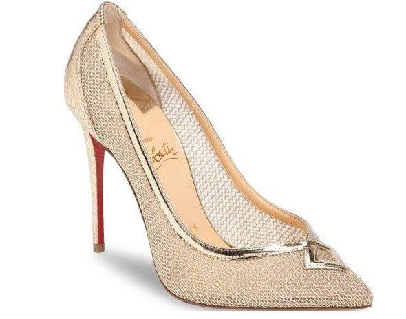 Strapless heels