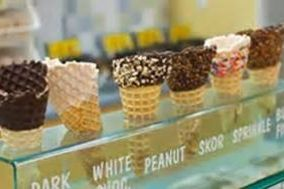 Ice Cream, Full service Sundae Bar, Marble Slab Creamery