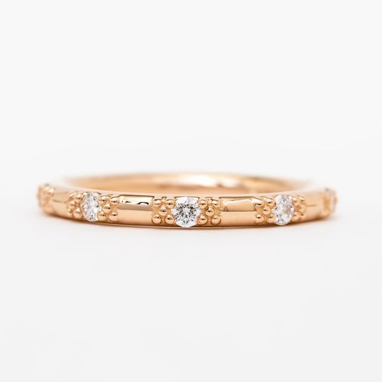 18k rose gold & diamonds
