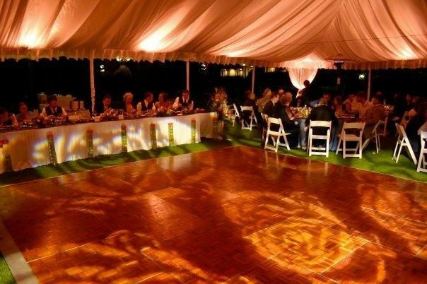 Projections on the dance floor