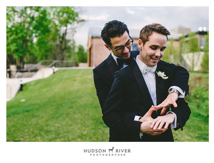 gay wedding hudson