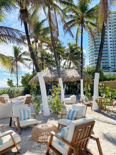 Palm House Area