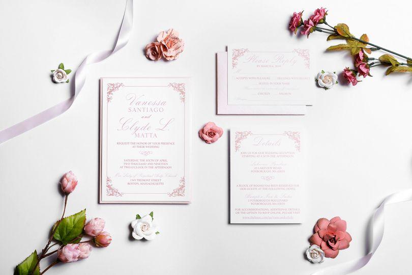 Blush & Rose Gold Wedding