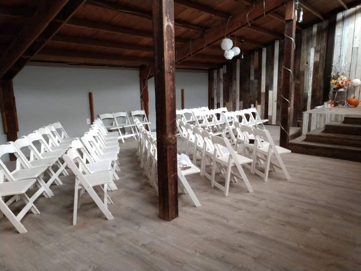 Chairs for up to 200 currently