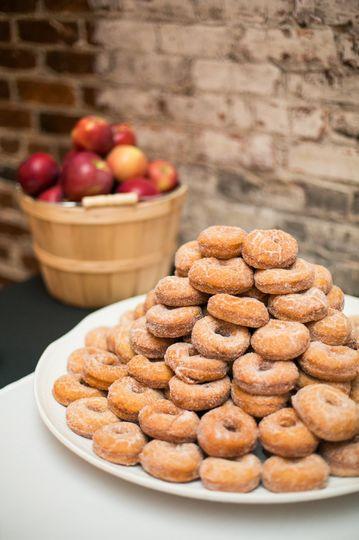 Doughnuts |  Photo by Blue Barn Photography