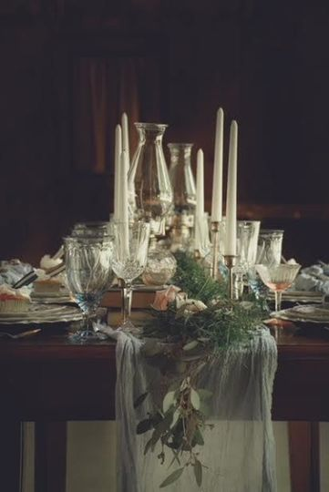 Tablescapes are an important design aspect in any event.