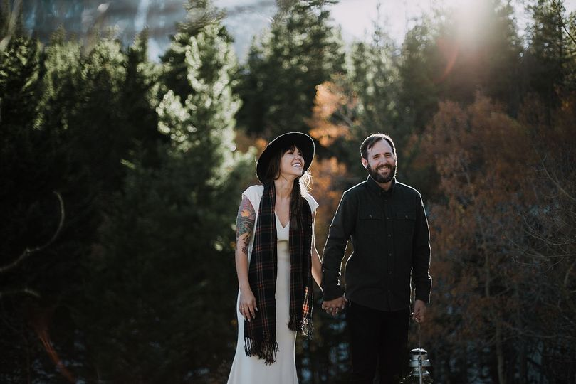 Adventurous Styled Camp Elopement in Silver Plume Colorado