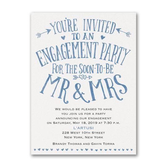 Whimsical invites