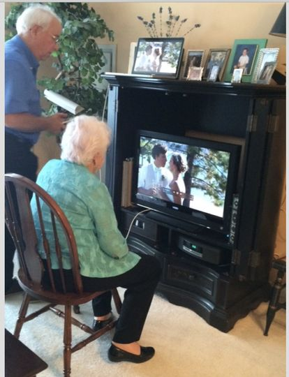 A 98 year young grandmother could not attend the Edgewood wedding