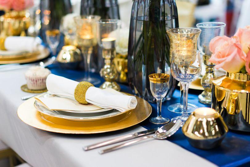 Table settings set the mood