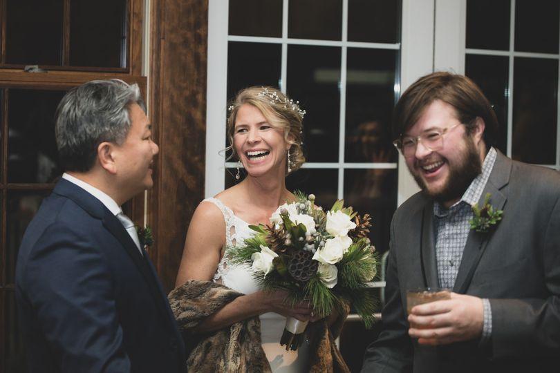 Wedding Candid Shot