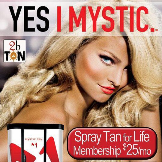 Mystic Booth Spray Tanning