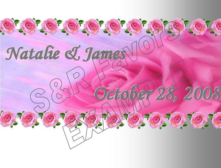 Roses, pretty in pink! We have this design also available in lavender, it could be done in other...