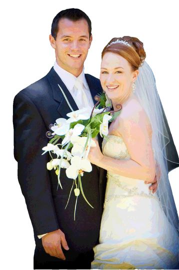 generic wedding couple