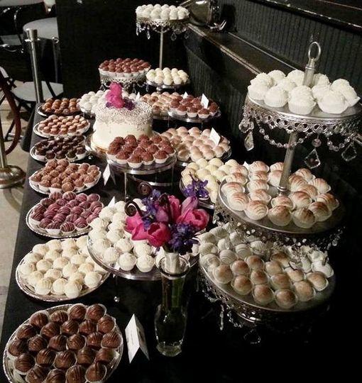 Cake Ball Dessert Table