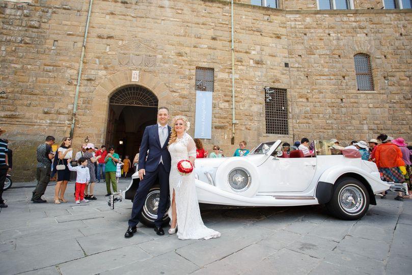 Bride & Groom Car