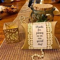 Hand made table decorations