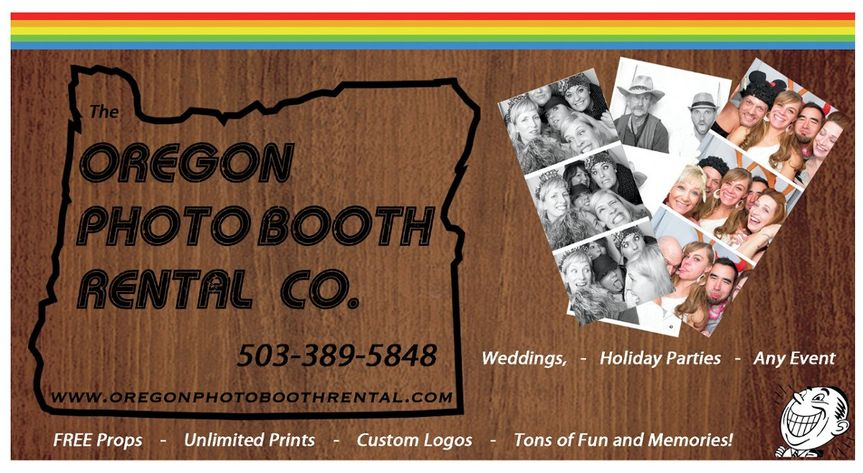 Oregon photo booth rental