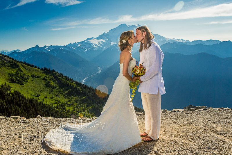Kissing at the mountaintop