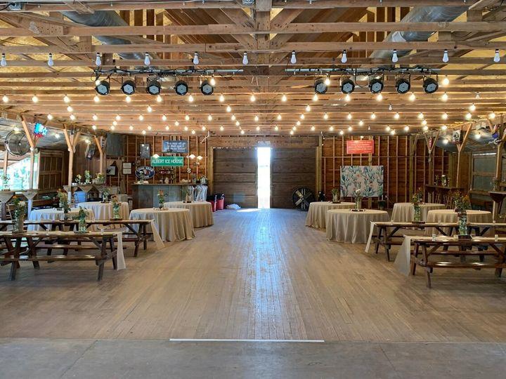 Tmx Decorated Dancehall 51 1887629 1571157327 Stonewall, TX wedding venue