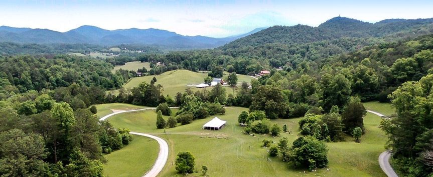 Country Manor Acres from Drone