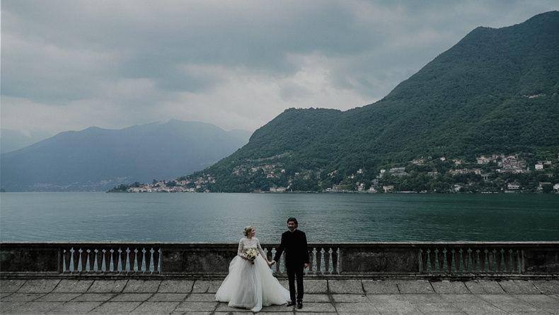 Destination wedding, Como Lake