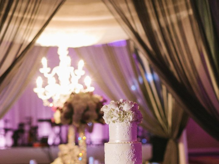 Tmx 1395677488435 Garzawedding082 Spring wedding cake